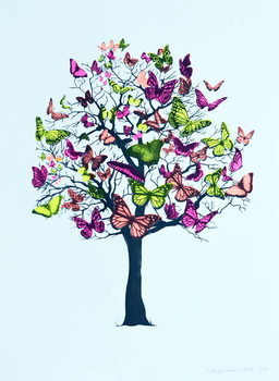 Butterfly blossom, 2016, Reproducere