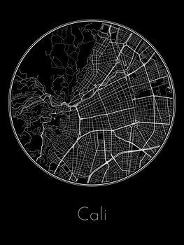 Harta orașului Cali