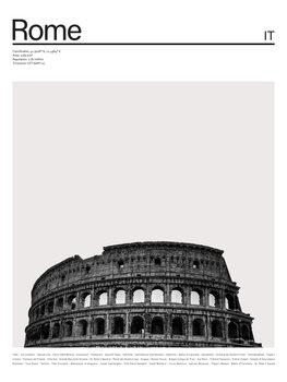 Ilustrare City Rome 1