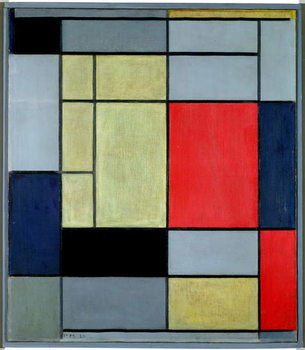 Composition I, 1920 Reproducere