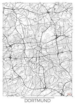 Harta orașului Dortmund