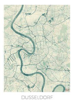 Harta orașului Dusseldorf