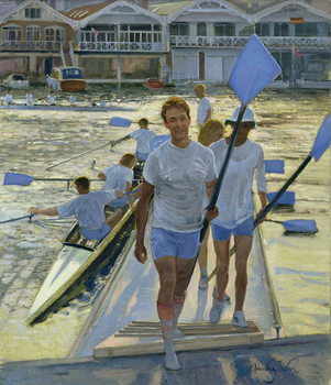 Evening Return, Henley, 1998 Reproducere