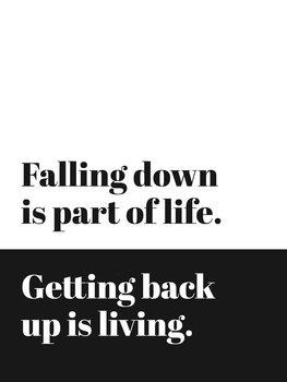 Ilustrare fallingdownispartoflife