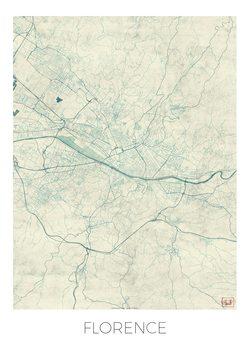 Harta orașului Florence
