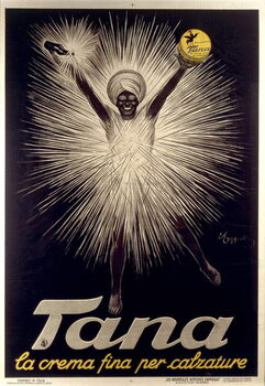 Advertisement for Tana shoe polish by Leonetto Cappiello , poster, 1925 Reproducere