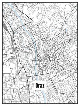 Harta orașului Graz