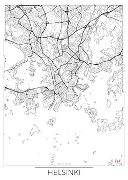 Harta orașului Helsinki