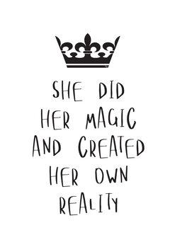 Ilustrare Her Magic