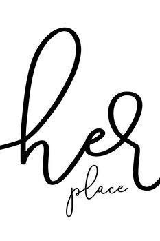 Ilustrare Her place