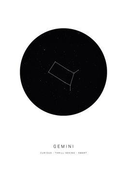Ilustrare horoscopegemini