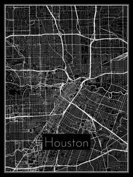 Harta orașului Houston