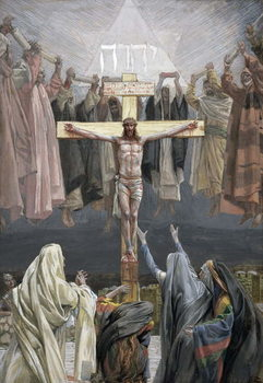 It is Finished, illustration for 'The Life of Christ', c.1886-94 Reproducere