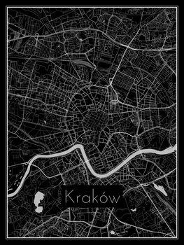 Harta orașului Kraków