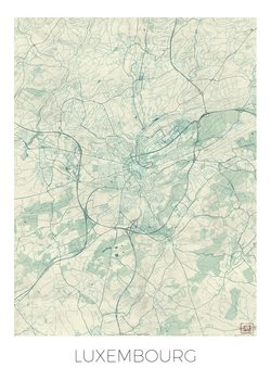 Harta Luxembourg