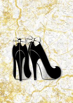 Ilustrare Marble Heels