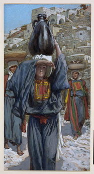 Martha, illustration for 'The Life of Christ', c.1886-94 Reproducere