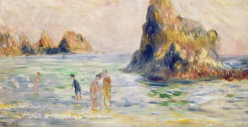 Moulin Huet Bay, Guernsey, c.1883 Reproducere
