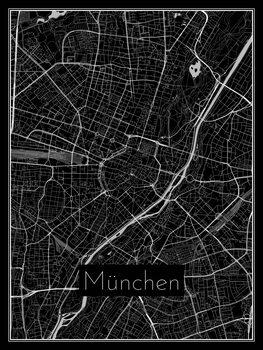 Harta orașului München
