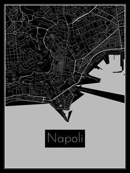 Harta orașului Napoli