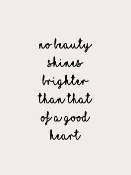 Ilustrare No beauty shines brighter