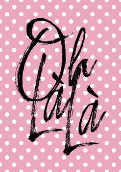 Ilustrare Ohlala pink