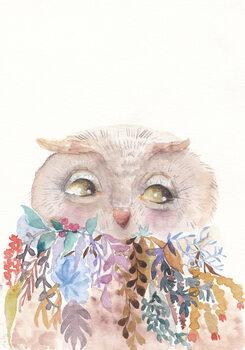Ilustrare Owl