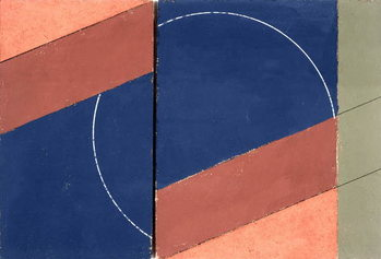 Painting - Interrupted Circle, 2000 Reproducere