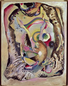 Painting on a Light Ground, 1916 Reproducere