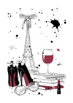 Ilustrare Paris Style