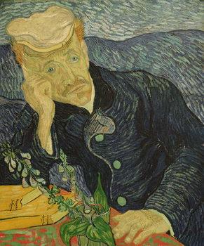 Portrait of Dr Paul Gachet Reproducere