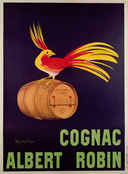 Poster advertising 'Albert Robin Cognac' Reproducere