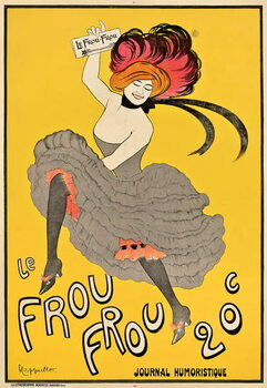 Poster advertising the French journal 'Le Frou Frou', 1899 Reproducere