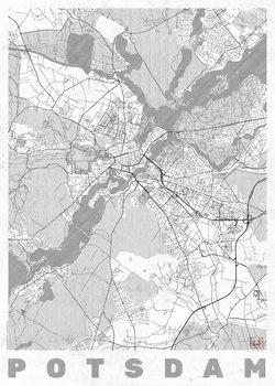 Harta orașului Potsdam