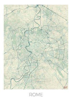 Harta orașului Rome