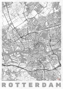 Harta orașului Rotterdam