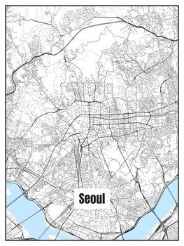 Harta orașului Seoul