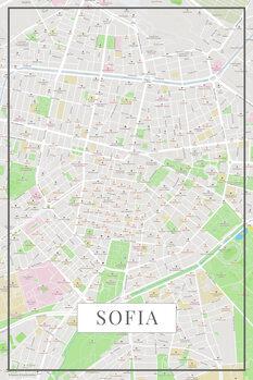 Harta Sofia color