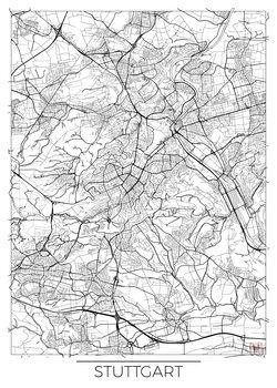 Harta orașului Stuttgard