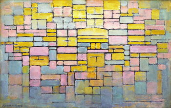 Tableau no. 2 / Composition no. V, 1914 Reproducere