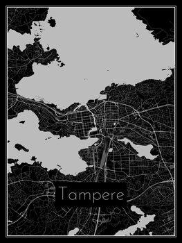 Harta orașului Tampere