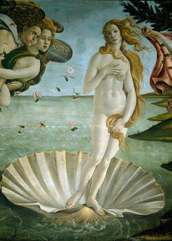 The birth of Venus (detail), 1484 Reproducere