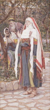 The Magnificat, illustration for 'The Life of Christ', c.1886-94 Reproducere
