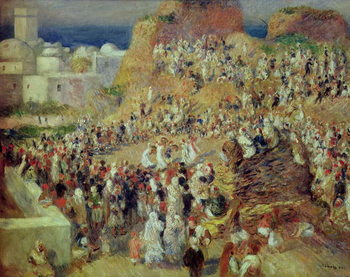 The Mosque, or Arab Festival, 1881 Reproducere