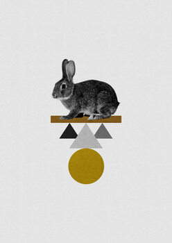 Ilustrare Tribal Rabbit