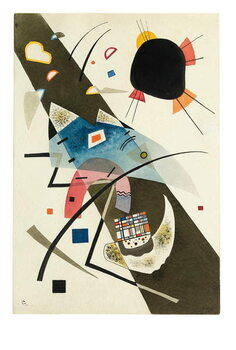 Two Black Spots, 1923 Reproducere