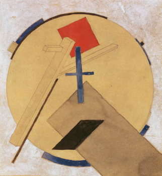 Untitled Proun Study, c.1919-20 Reproducere