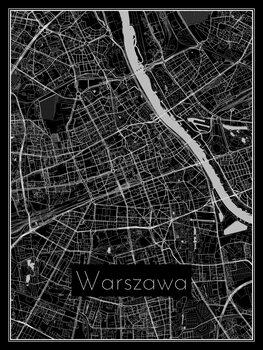 Harta orașului Warszawa