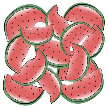 Ilustrare Watermelon