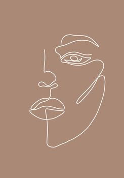 Ilustrare Woman face
